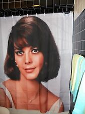 Natalie Wood  Shower Curtain West Side Story Gypsy