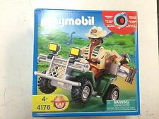 Playmobil 4176 Explorer Quad Safari Vehicle New in sealed Box!