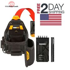 TOUGHBUILT Tape Measure Utility Knife Pouch Contractor Construction Tool Holder