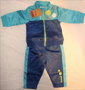 Reebok Baby Jungen Mädchen Anzug Jogger Set Babyanzug Jogginganzug Kinder