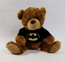 Batman Teddy Bear Plush Six Flags Exclusive Cape Logo Bat Signal