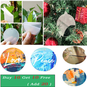 1x Clear Circle Acrylic Sheet for Crafting DIY Projects Painting Picture Frame