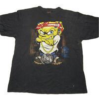 Vintage Y2K Spongebob Graphic Hip Hop Rap Tee T Shirt Men's Size XL Biggie