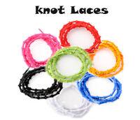 iRUN Elastic Knot Shoelaces - No Tie Easy Stretch Fit Triathlon Sport Laces UK