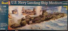 Revell 1/144 U.S. Navy Landing Ship Medium (LSM) Plastic Model Kit 80-5123