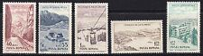 Romania 1964 Tourism Complete Set of Stamps MNH