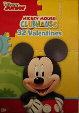 Disney Junior Mickey Mouse Clubhouse Valentines Day Cards 32 ct Party Supplies