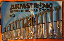 Armstrong 30-607 14 Piece 12 Point Black Oxide Regular Length Combination Wrench