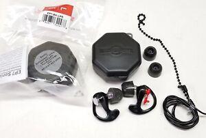 SureFire Sonic EP7 Defenders Ultra Earplugs LARGE Foam Tip Case/Lanyard