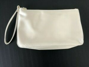 BVLGARI BAG MAKEUP COSMETIC TRAVEL ZIPPER POUCH CASE GREAT CONDITION