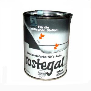 (36,00 €/Liter)  Rostbindefarbe AUTO-ROSTEGAL 1000 ml rotbraun