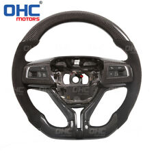 100% Real Carbon Fiber Steering Wheel for Maserati Ghibli Levante  GranCabrio