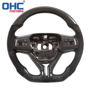 100% Real Carbon Fiber Steering Wheel for Maserati Ghibli Levante  GranCabrio