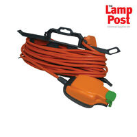 Masterplug Weatherproof Outdoor Mains Extension Cable Lead IP54 Rated Socket 15m