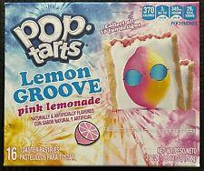 NEW KELLOGGS POP TARTS LEMON GROVE PINK LEMONADE 27 OZ BOX 16 TOASTER PASTRIES