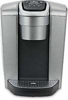 Keurig K-Elite Single Serve K-Cup Pod Coffee Maker - Brushed Silver
