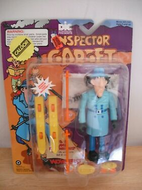 Inspector Gadget Action FigureGogo Gadget Expanding Legs1992model 84602