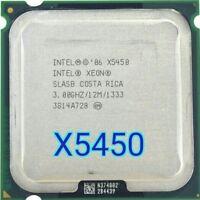 Intel Xeon X5450 Procesador 3.0 GHz 12 MB 1333 MHz CPU funciona en LGA775 placa