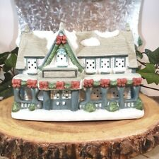 """Partylite Winter Holiday """"Candle Shop� #P0266 Tealight candle Christmas Village"""