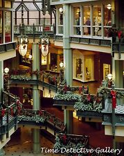 Georgetown Park Mall at Christmas Time, Wash. D.C. - Giclee Photo Print