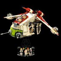 Display Stand Acrylglas Standfuss für LEGO 75021 Republic Gunship