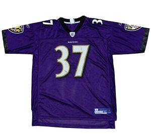 Rare Vintage Deion Sanders Baltimore Ravens #37 Purple Size XL Jersey NFL