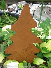 Piquet de jardin sapin patine bricolage avec vis Arbre Noël / DÉCORATION D'hiver