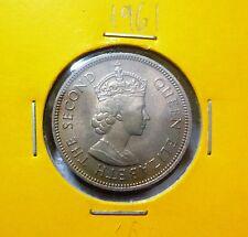 Malaya 20 Cents coin (1961) QEII - UNC+
