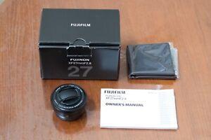 Fujifilm Fujinon XF 27mm F/2.8 Pancake Lens