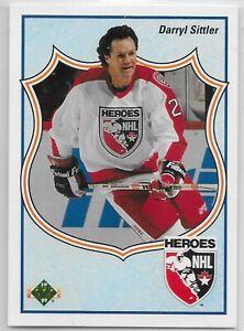 1990-91 Upper Deck #506 Serge Savard HERO Montreal Canadiens HOF