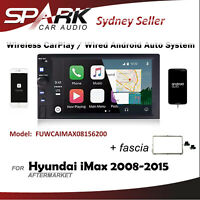 WIRELESS CARPLAY ANDROID AUTO BLUETOOTH USB FOR HYUNDAI iMAX i-Max 2008-2015 AD