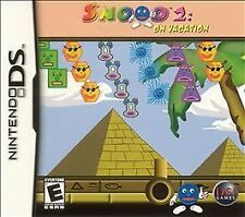 Snood 2 On Vacation Nintendo DS Game & Case - Usually ships in 12 hours!!!