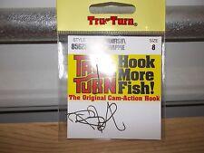 Tru Turn Panfish crappie fishing hooks 856ZS size 8 qty 9 NIP