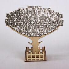 """Text-Baum """"Psalm 23"""" - 3D Aufsteller (*NEU*)(*OVP*)"""