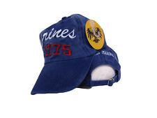 Blue USMC Marines Marine Corps 1775 Washed Rugged Style Hat Cap