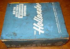 Hollander Parts Interchange Manual 1972 1973 1974 1975 1976 1977 1978 1979 1980
