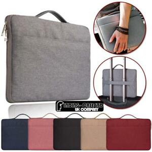 """Universal Sleeve Case Carry Bag Pouch For 10"""" 11"""" 12"""" 13"""" 14"""" 15"""" Laptop"""