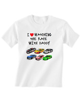 Nascar Tshirt Toddler T-Shirt Love Watching With Daddy
