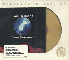 Desmond, Paul Pure Desmond GOLD CD Mastersound SBM Neu OVP Sealed OOP