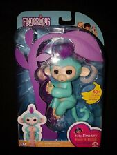 Fingerlings Teal Baby Monkey Zoe |BRAND NEW SEALED WowWee AUTHENTIC Green