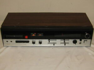 Mayfair Model 2100 8 Track Player AM-FM-MPX Solid State *As-Is*