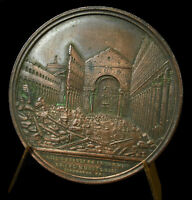 Medal Basilica st. Paul-Outside-The-Walls Pie Ix Pio Pope Pius Dad Pope Medal