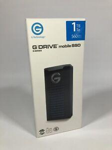 G-Technology 1TB G-Drive mobile SSD R-Series - USB-C connectivity USB 3.1 Gen 2