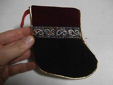 Sacchetto regalo calza Natale christmas gift bag sock confezione