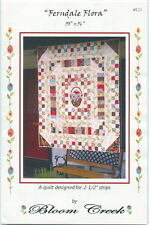 Ferndale Flora ~ Quilt Quilting Pattern ~ by Bloom Creek 125