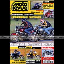MOTO REVUE N°3442 KAWASAKI ZR-7 SUZUKI GSX 750 XF 650 BMW F650 GS BOL D'OR 2000
