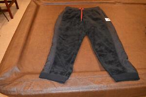Air Jordan Wings Of Flight Fleece Sherpa Jogger BLACK AH6257 010 Sz XXL