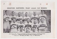 Team Pic from 1949-50 FOOTBALL Annual - BRADFORD NORTHERN + HUDDERSFIELD Rugby L