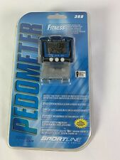 2004 SPORTLINE 360 Fitness Pedometer Proline Series NEW