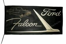 FORD FLAG BANNER  FORD FALCON F-250 fusion ranger 5 X 2.45 FT 150 X 75 CM